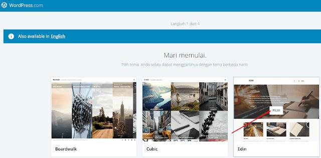 Cara membuat blog di wordpress gratis  terbaru dan lengkap