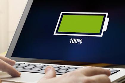 Tips Ampuh Merawat Baterai Laptop Agar Awet dan Tahan Lama