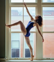 Dancer Claire Campbell.