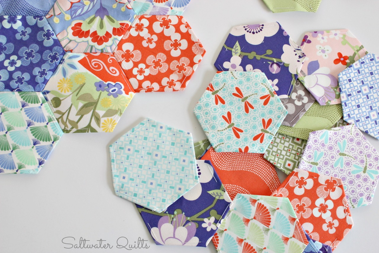 Saltwater Quilts Good Fortune Hexi