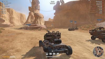 Crossout - drużynowy atak