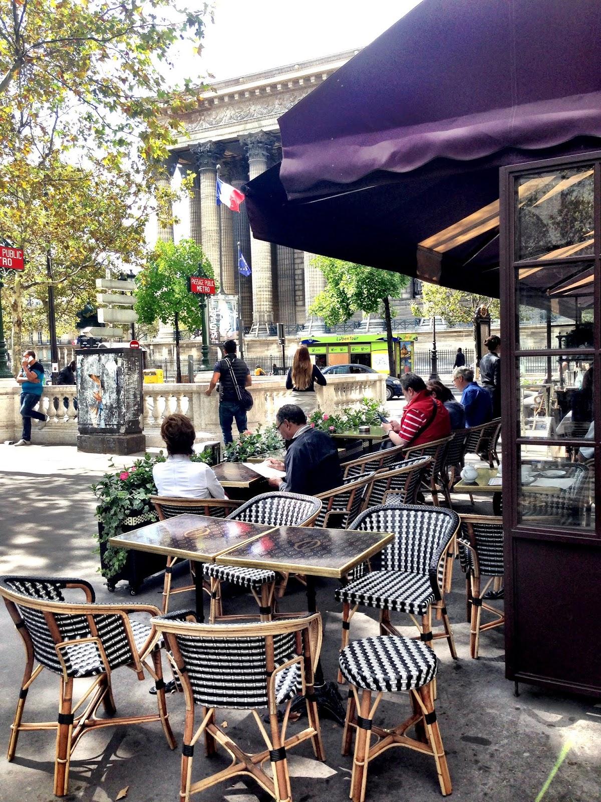 Focus On Paris: Madeleine and tea