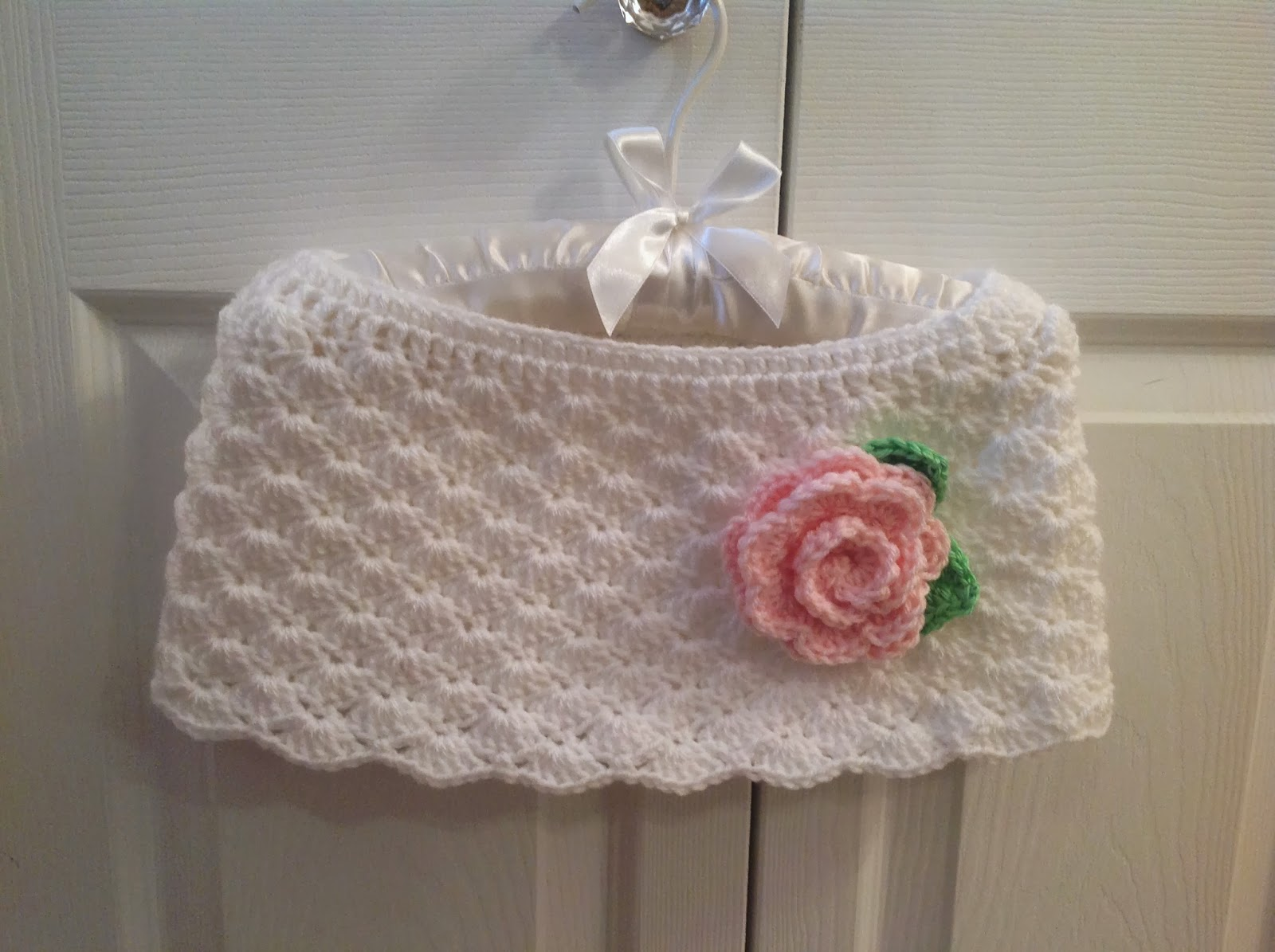 Mi Casa Girls Crochet Capelet
