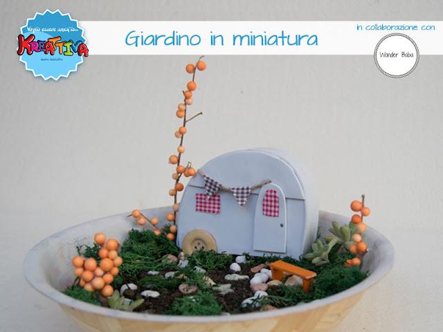 Giardino in miniatura di Wonder Baba