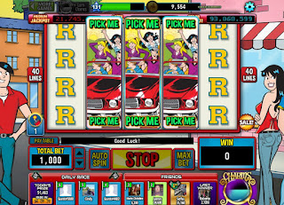 Pick Me screen on Archie slots at Hit It Rich