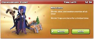 Mini curse event
