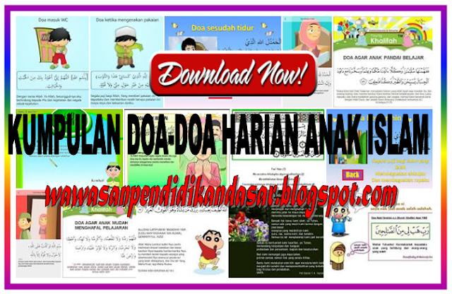 Download Kumpulan Doa-doa Harian anak Islam
