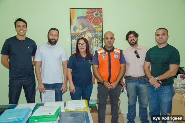 Agentes da Defesa Civil tomam posse em São Pedro da Aldeia