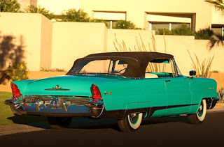 1956 Lincoln Premiere Convertible Rear Right