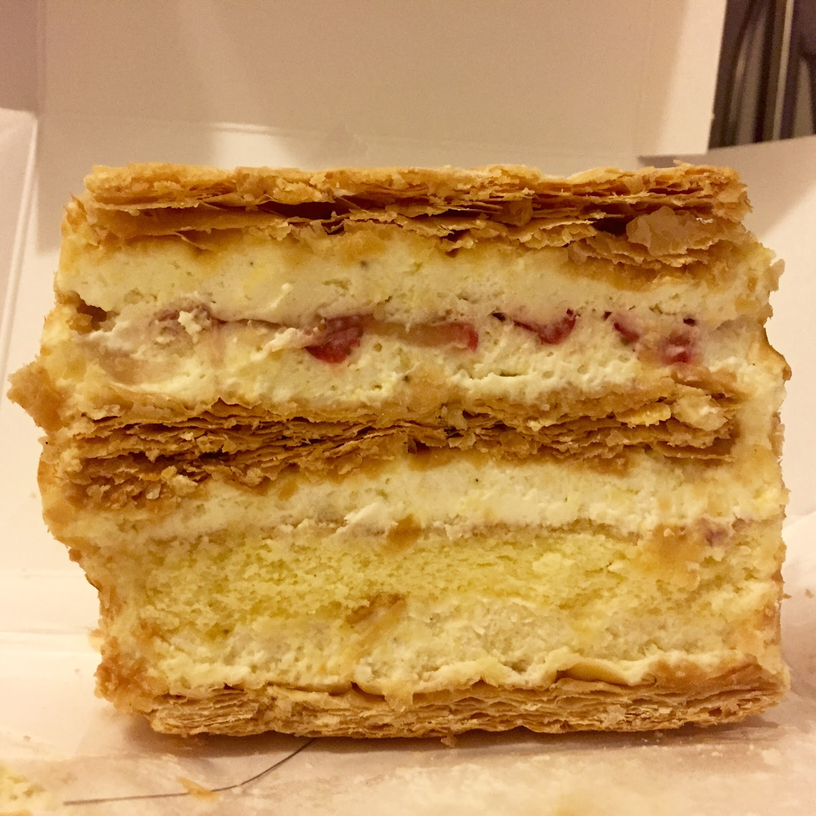 lady m cake m cake boutique strawberry mille feuille 5387