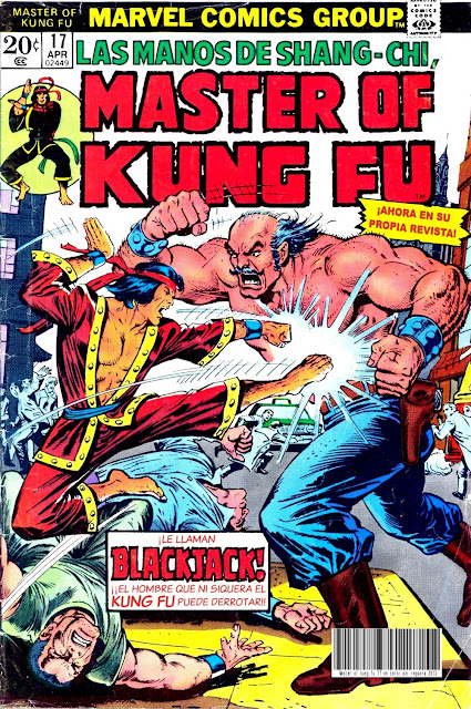 Portada de Master of Kung Fu Nº 17 traducido