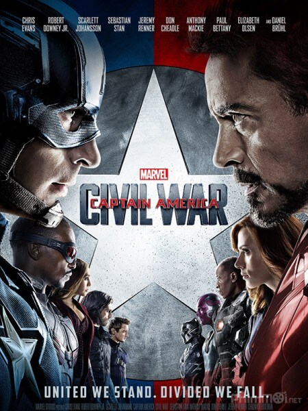 Noi chien sieu anh hung - Captain America 3: Civil War 2016 Vietsub