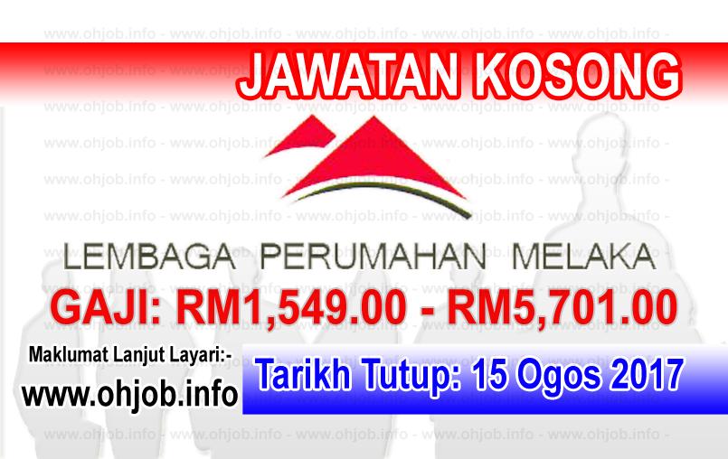 Jawatan Kerja Kosong Lembaga Perumahan Melaka - LPNM logo www.ohjob.info ogos 2017