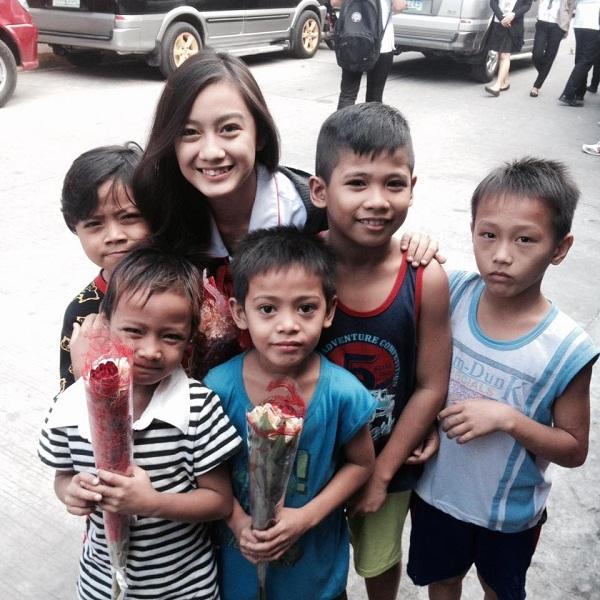 Dara Mae Tuazon wins Humanitarian Award Bangketa