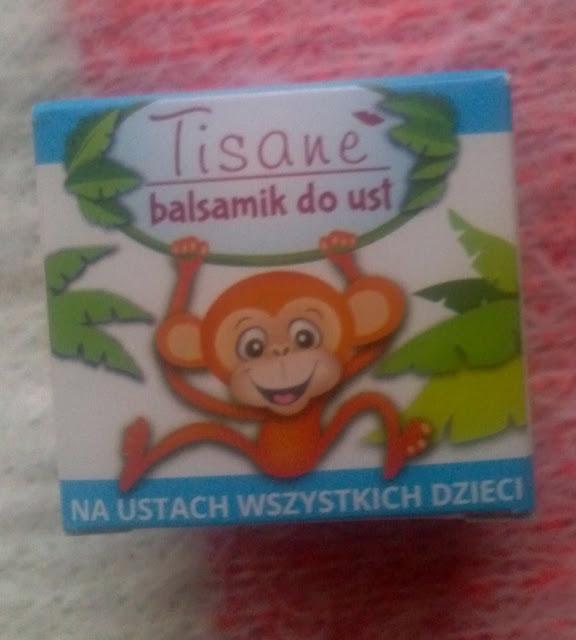 Tisane - balsamik do ust dla dzieci.