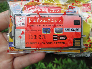 Baterai Siemens SL45 Jadul Valentine