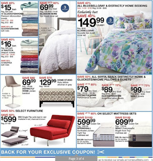 Home Outfitters Flyer Weekly - Summer Stock Up Sale! Valid August 25 - 31, 2017