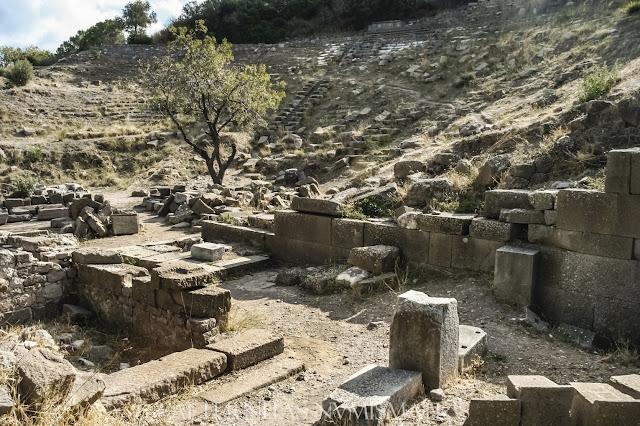 El teatro de Erythrai