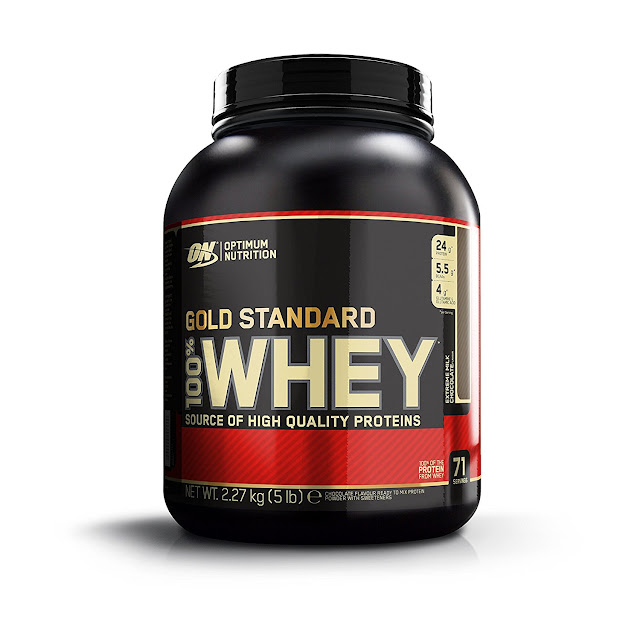 What is the benefits of gold standard whey protein ?