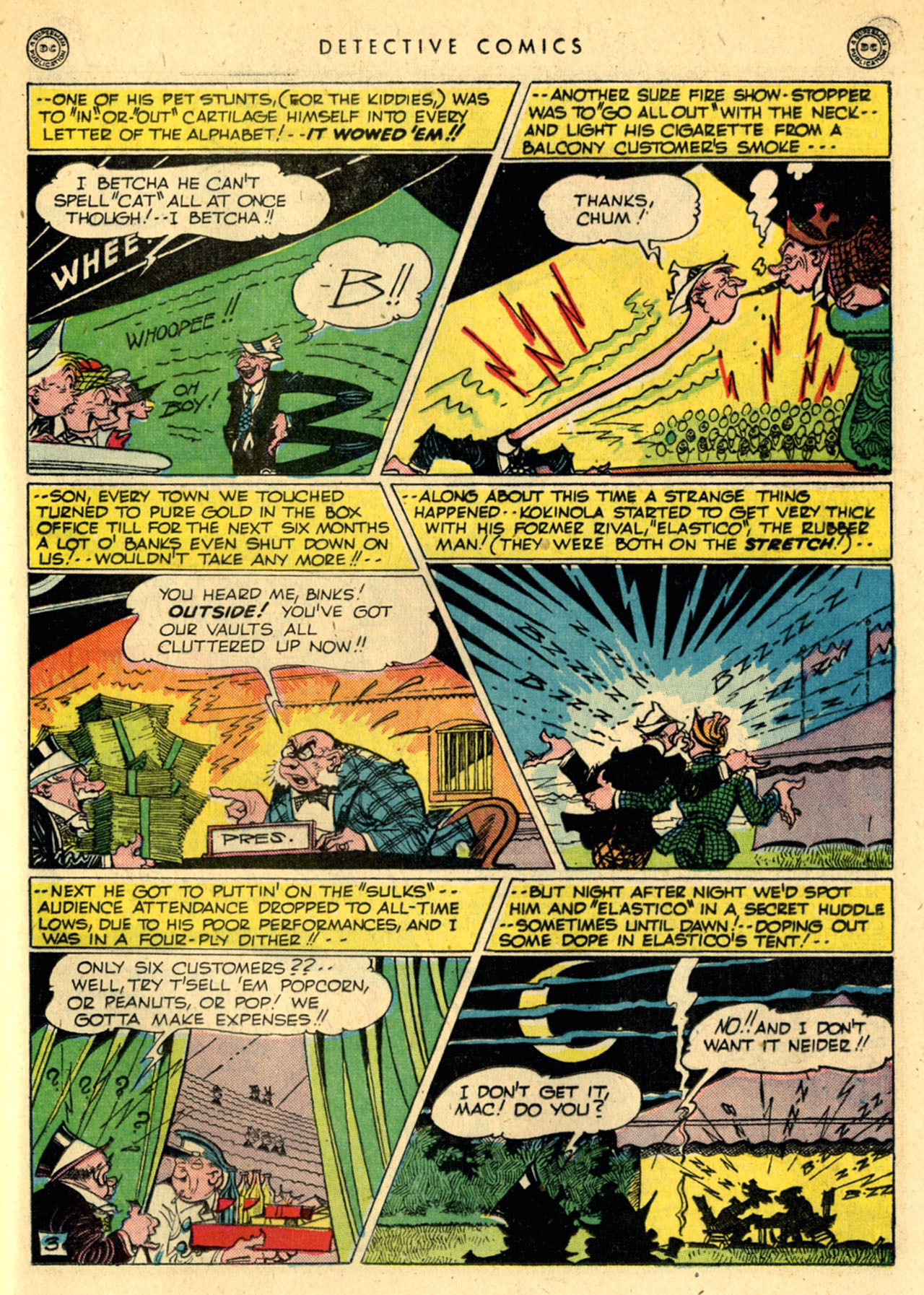 Read online Detective Comics (1937) comic -  Issue #111 - 35