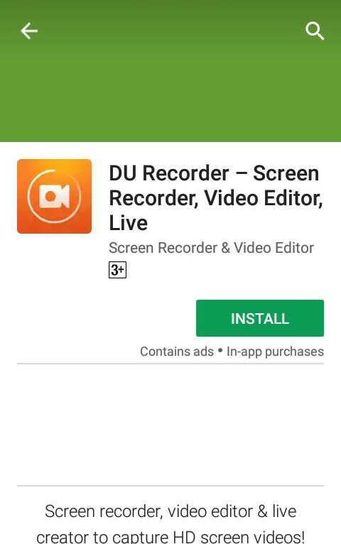 how to make a music video on your android phone using du screen recorder