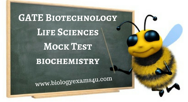 GATE Mock test - Biochemistry Practice Test