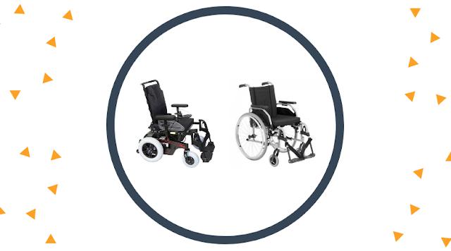 Entenda as diferenças entre cadeira de rodas motorizada e manual