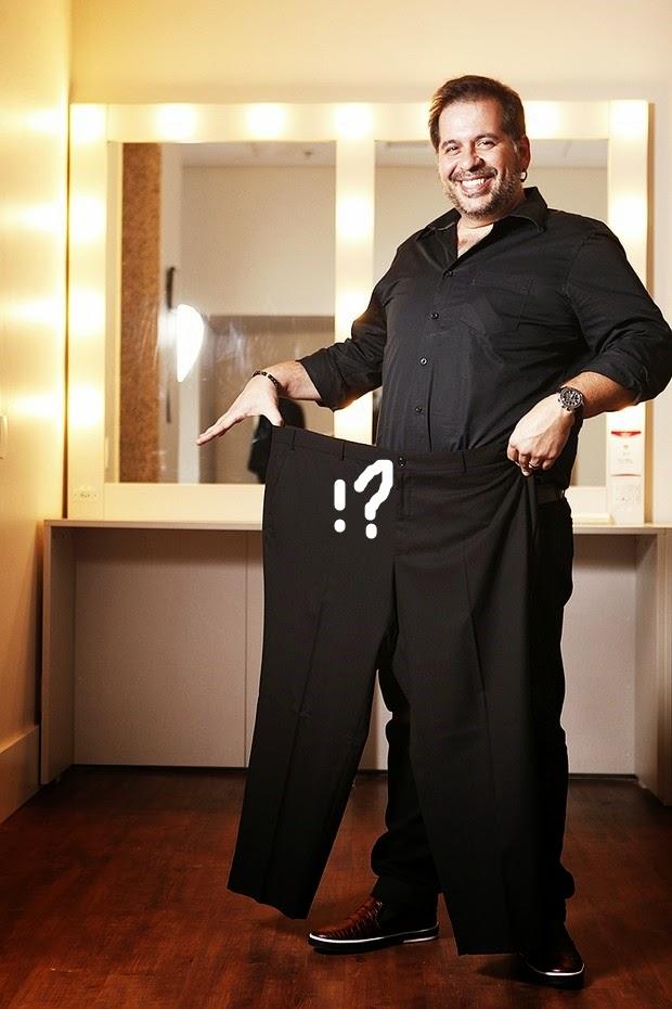 Leandro Hassum com 32kg a menos! Isso é ...