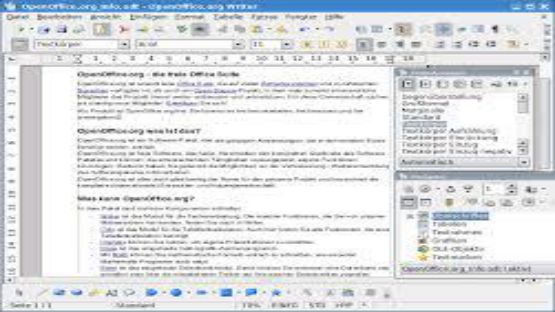 OpenOffice screenshot 4