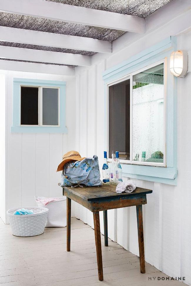 Arredare piccoli spazi: la mobilhome shabby chic di Rachel Ashwell esterno
