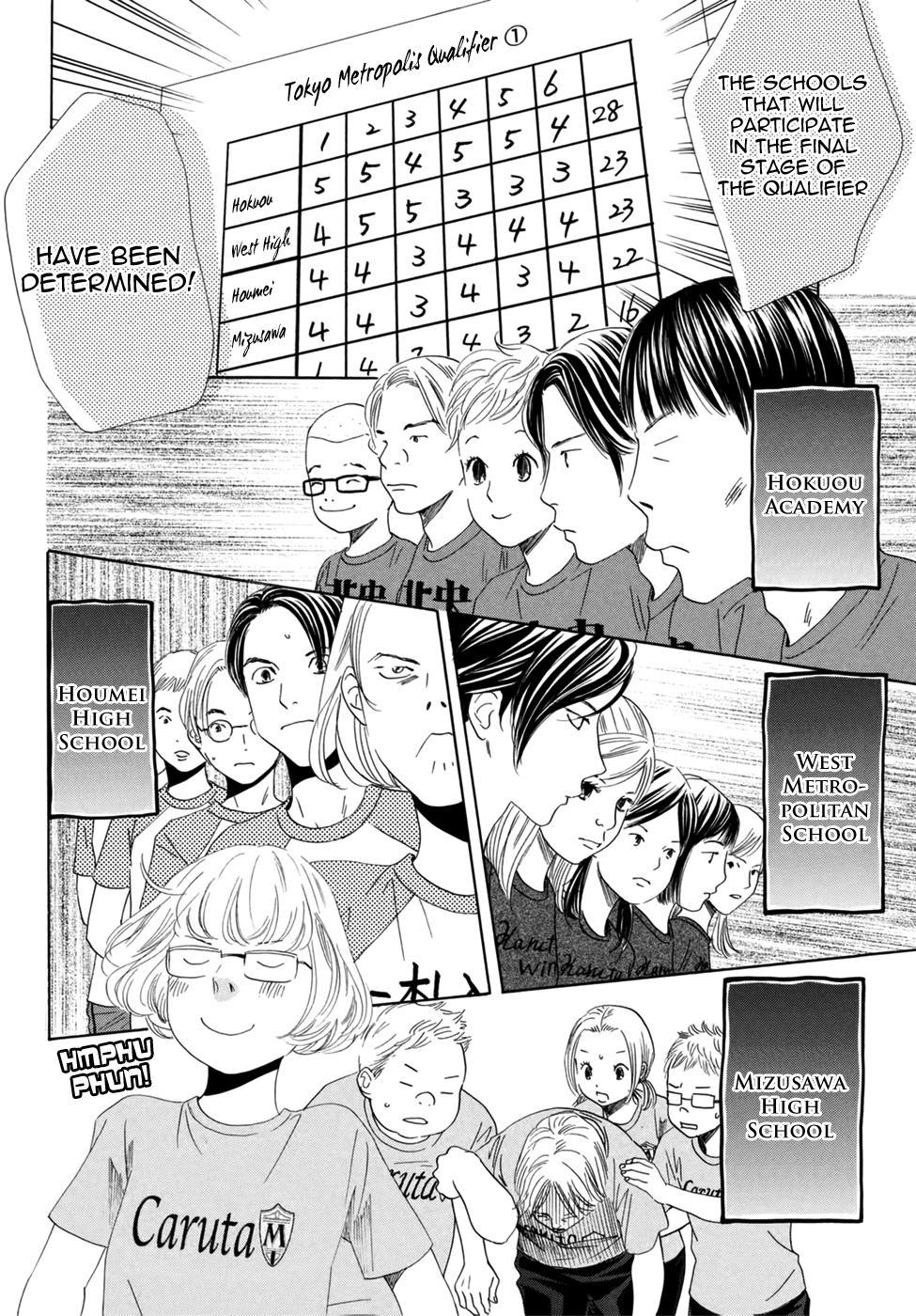 Chihayafuru - Chapter 109