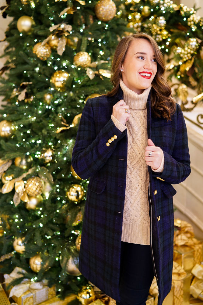 Krista Robertson, Covering the Bases, Travel Blog, NYC Blog, Preppy Blog, Style, Fashion Blog, Fashion, NYC Christmas, The Plaza Hotel, Christmas in the city, Holiday Style, Holiday decor