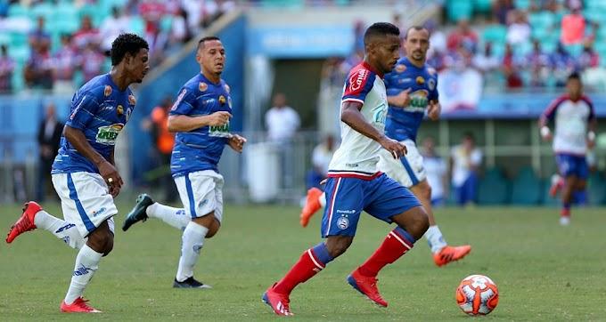 Jacobina perde de 3x0 para o Bahia na Arena Fonte Nova
