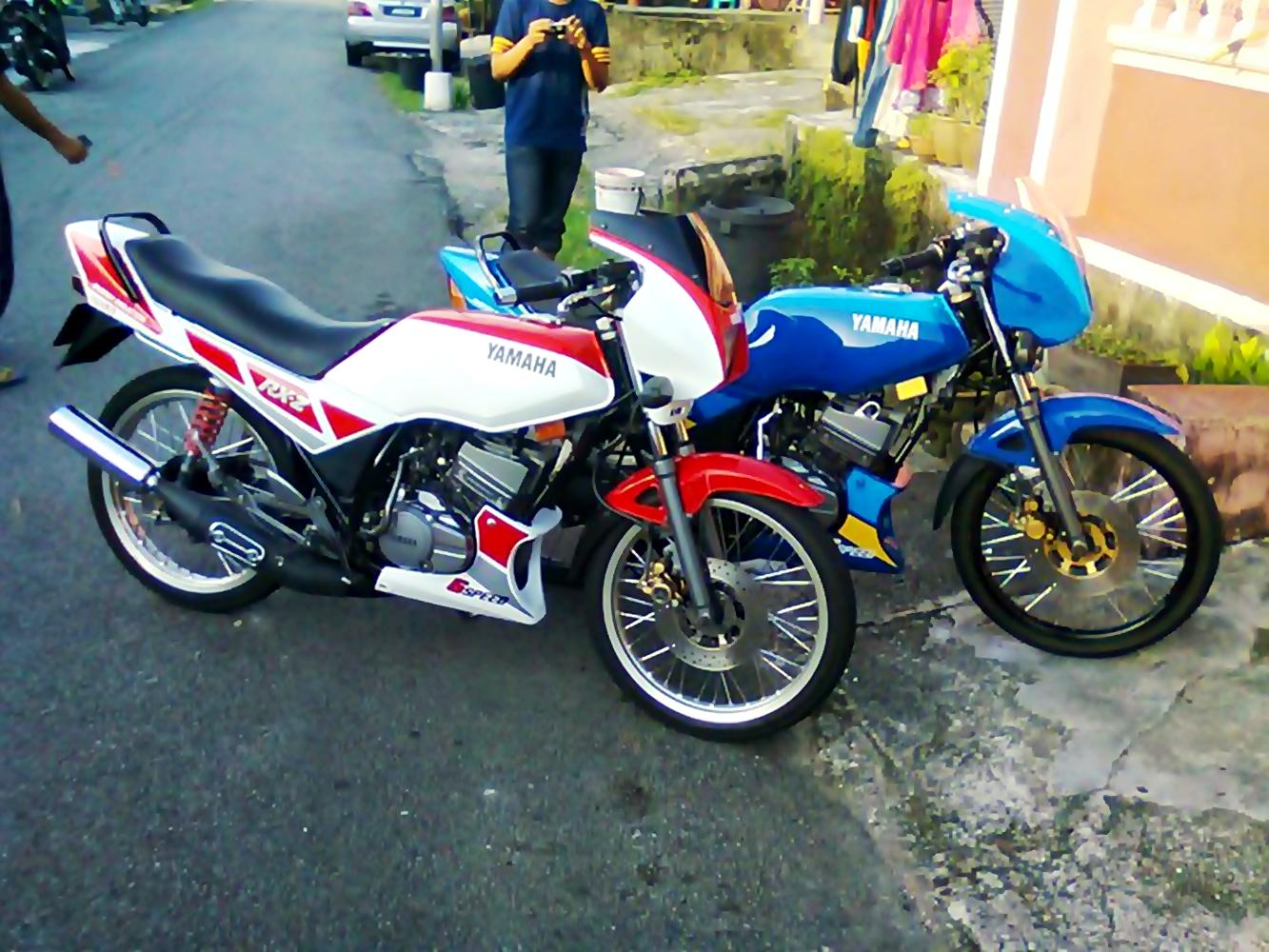 Koleksi 94 Gambar Motor Rxz Rempit Terbaru Dan Terlengkap Nara Motor