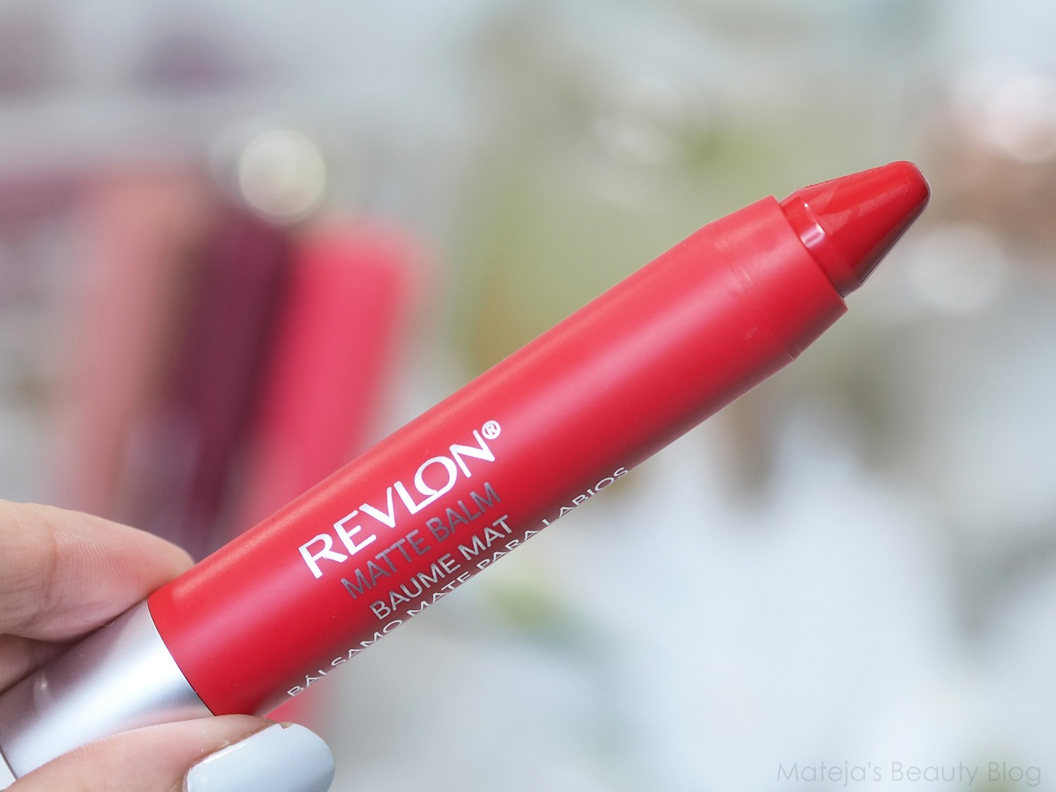 Revlon matte balm striking