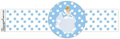 Cinderella  Free Printable Napkin Rings