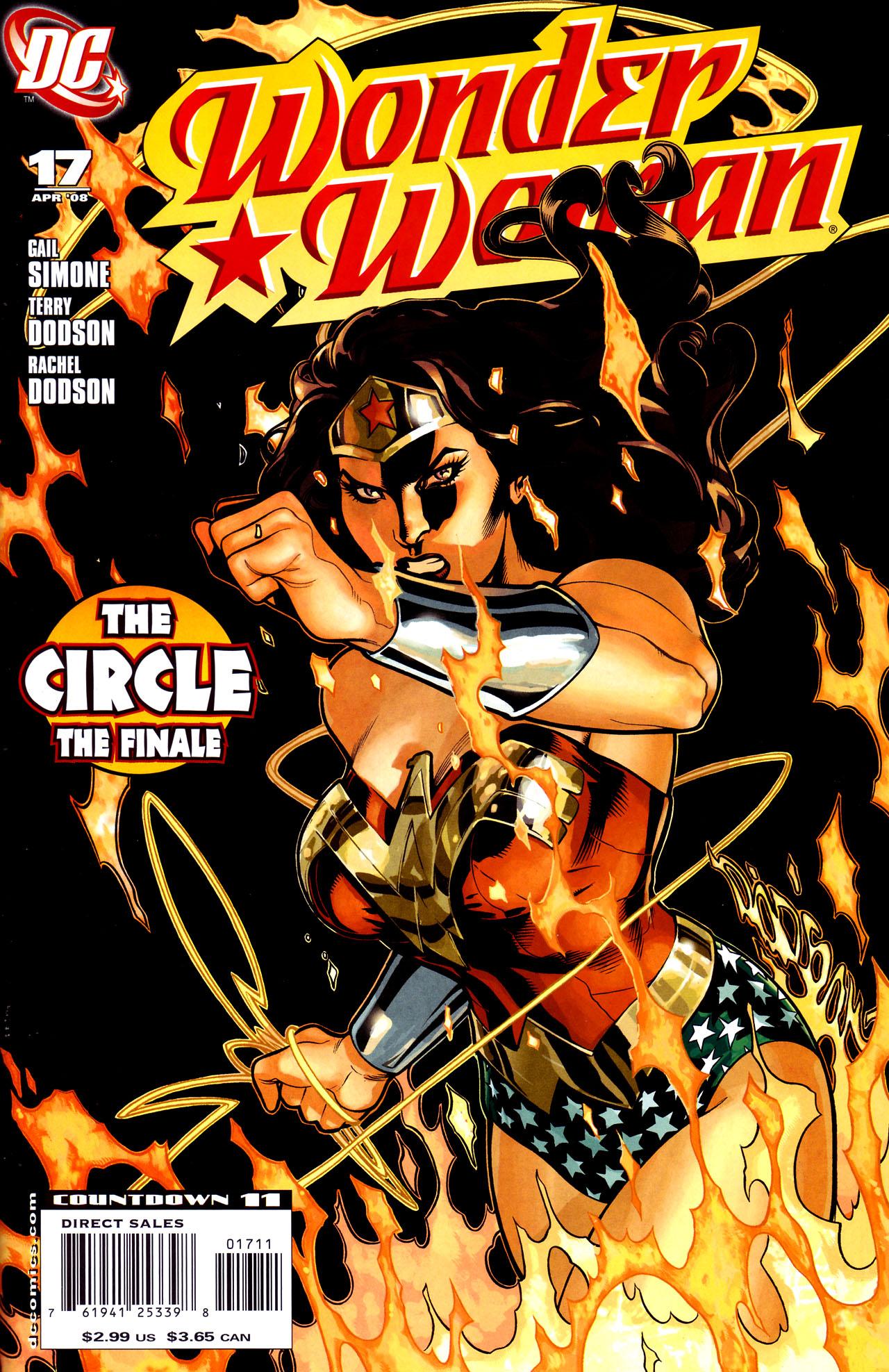 Read online Wonder Woman (2006) comic -  Issue #17 - 1