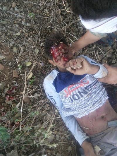 खबर तत्काल -: अमोला थाना के सामने ब्रीजा कार ने बाइक में मारी टक्कर ,एक कि मौत एक घायल | Shivpuri News