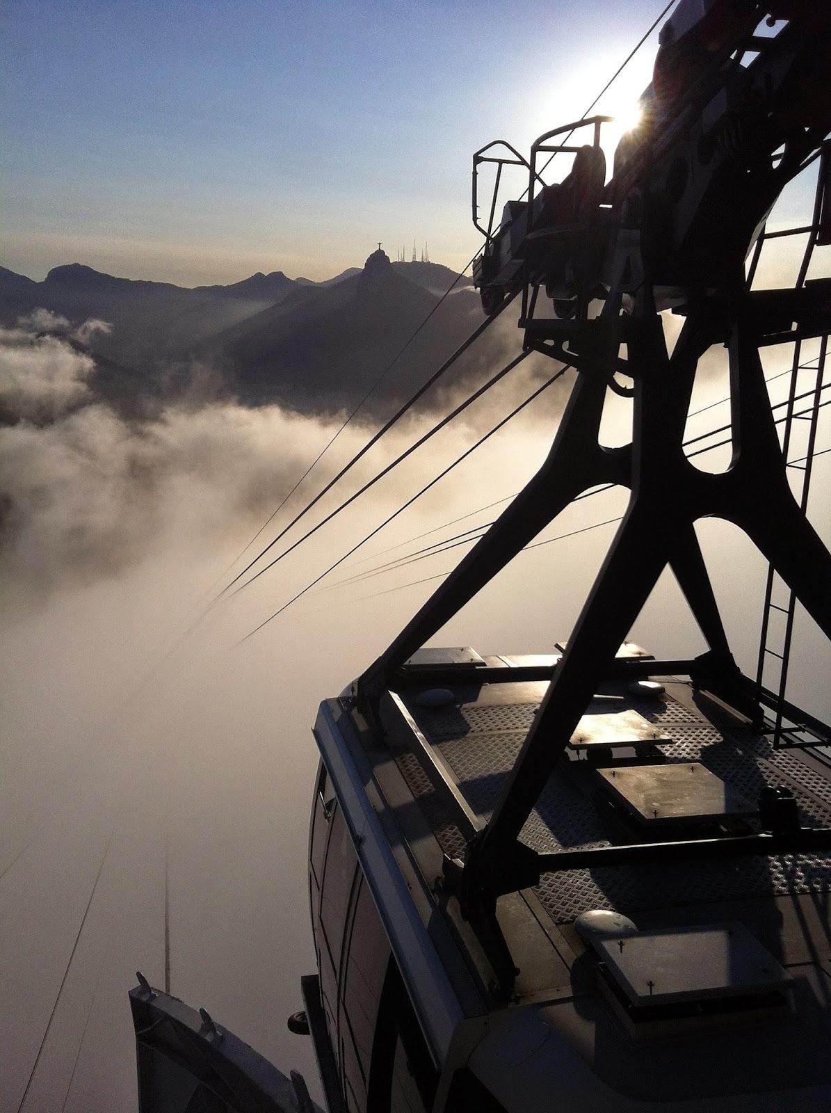 Cable car to Sugarloaf Mountain Rio de Janeiro