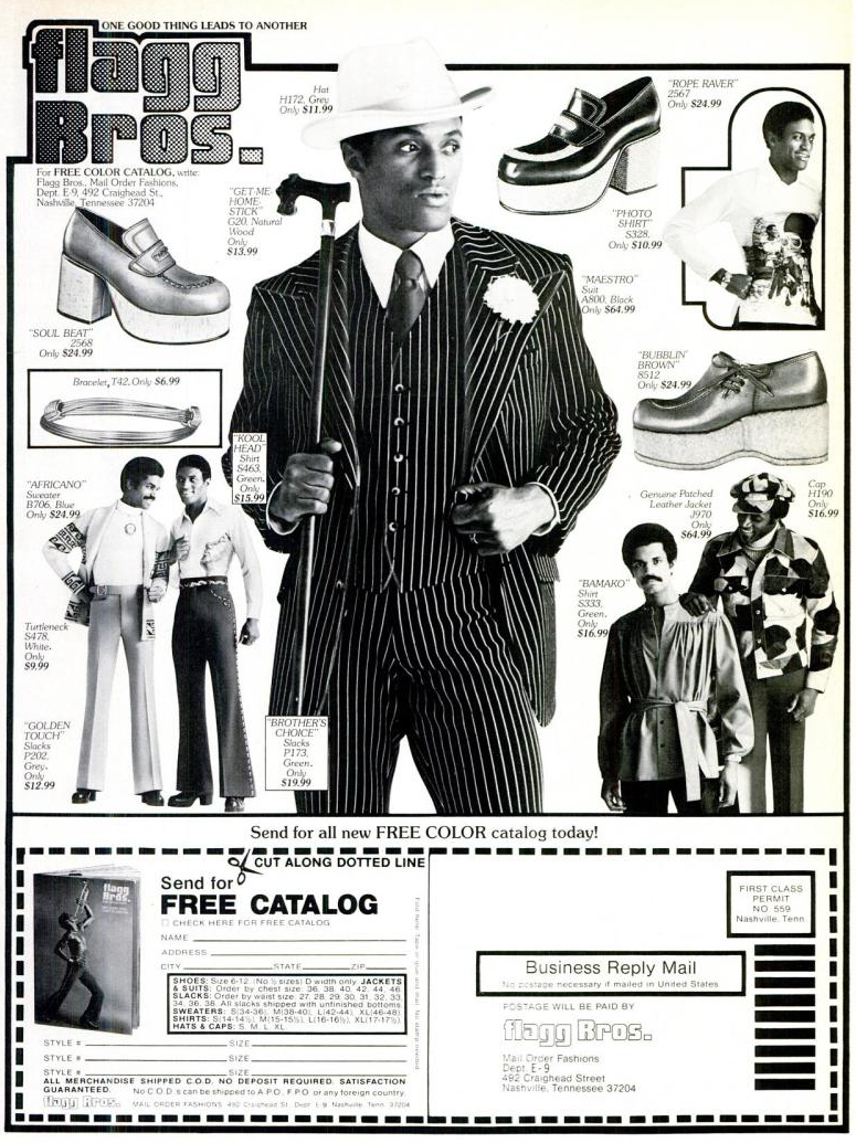 Flagg Bros Couture: Vintage Platform Shoes and Super Fly Suits