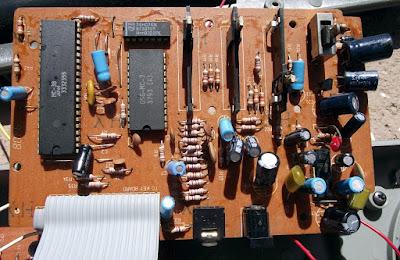Placa do Teclado CCE EK-55X