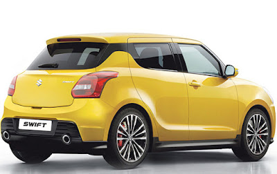 2017 Maruti Suzuki Swift rear view