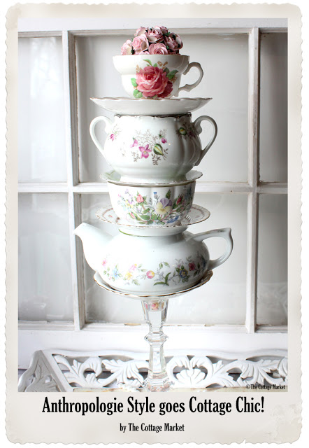 A vintage teacup sculpture is a great conversation piece your home