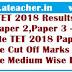 AP TET 2018 Cut Off Marks, Merit List, Score Cards Results @ aptet.apcfss.in
