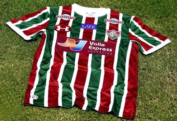 cde351c9b6 Fluminense apresenta novo patrocinador master em sua camisa - Show ...