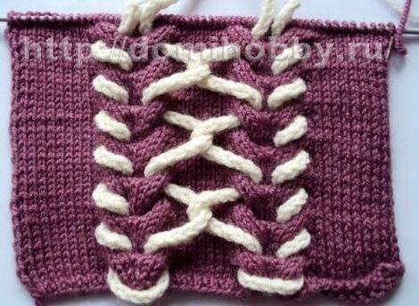 несколько основных видов вязания шнуров