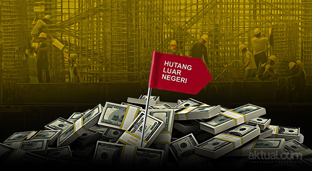 Hutang Luar Negeri Indonesia Tembus Rp4.339,79 Triliun