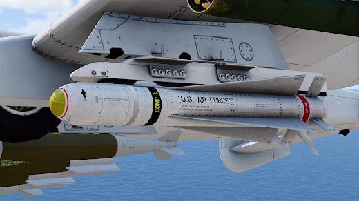 Arma 3 へミサイルや爆弾など追加の FIR AWS アドオン