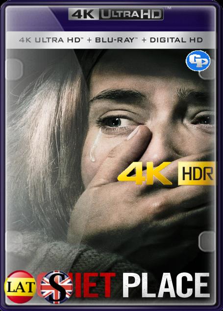 Un Lugar En Silencio (2018) 4K HDR LATINO/INGLES