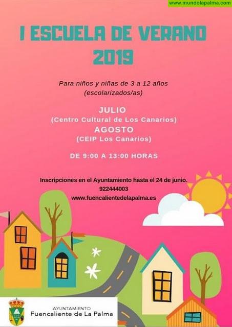 I Escuela de Verano 2019 Fuencaliente de La Palma